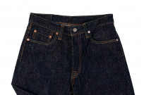 Pure Blue Japan SLB-019 16.5oz Slub Denim Jean - Straight Tapered - Image 9
