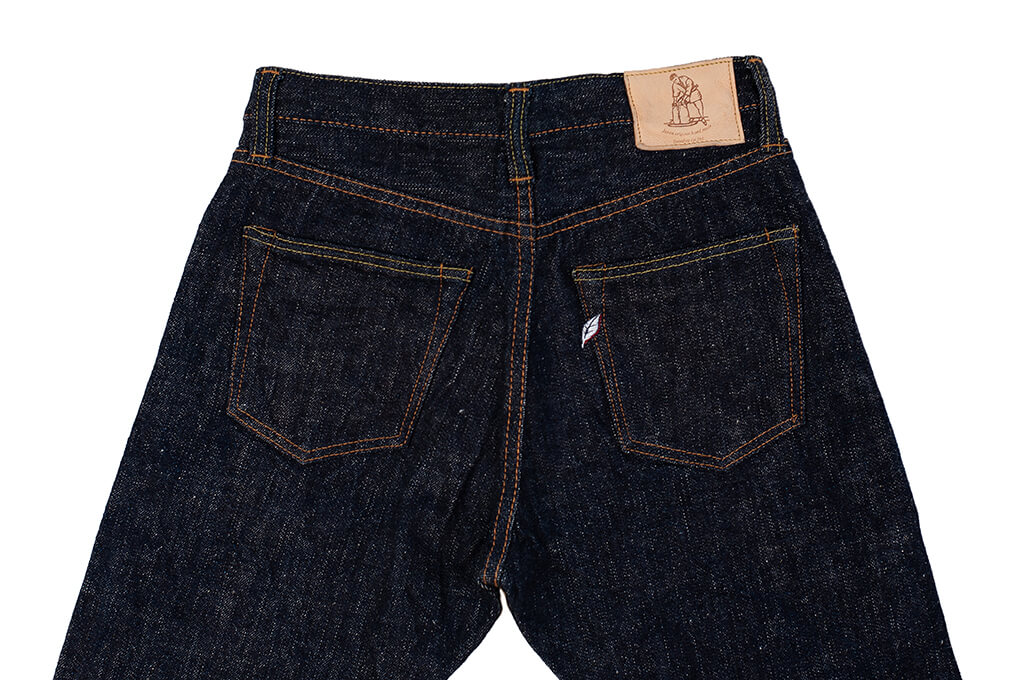 Pure Blue Japan SLB-019 16.5oz Slub Denim Jean - Straight Tapered - Image 10