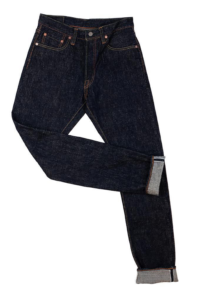 Pure Blue Japan SLB-019 16.5oz Slub Denim Jean - Straight Tapered - Image 11