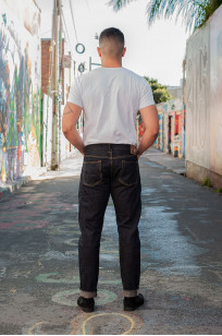 Studio D'Artisan SP-068 40th Anniversary Charcoal Weft Jeans - Straight Tapered - Image 3