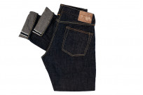 Studio D'Artisan SP-068 40th Anniversary Charcoal Weft Jeans - Straight Tapered - Image 5