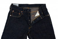 Studio D'Artisan SP-068 40th Anniversary Charcoal Weft Jeans - Straight Tapered - Image 6