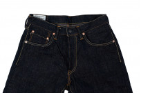 Studio D'Artisan SP-068 40th Anniversary Charcoal Weft Jeans - Straight Tapered - Image 7