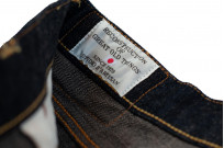 Studio D'Artisan SP-068 40th Anniversary Charcoal Weft Jeans - Straight Tapered - Image 9