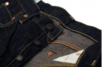 Studio D'Artisan SP-068 40th Anniversary Charcoal Weft Jeans - Straight Tapered - Image 10