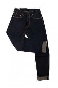 Studio D'Artisan SP-068 40th Anniversary Charcoal Weft Jeans - Straight Tapered - Image 11