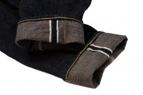 Studio D'Artisan SP-068 40th Anniversary Charcoal Weft Jeans - Straight Tapered - Image 14