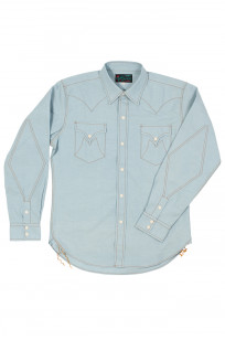 Mister Freedom Dude Rancher Shirt - Chambray - Image 0