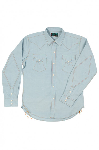 Mister Freedom Dude Rancher Shirt - Chambray