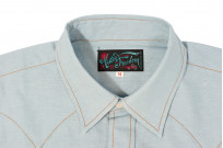 Mister Freedom Dude Rancher Shirt - Chambray - Image 4
