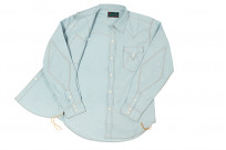 Mister Freedom Dude Rancher Shirt - Chambray - Image 6
