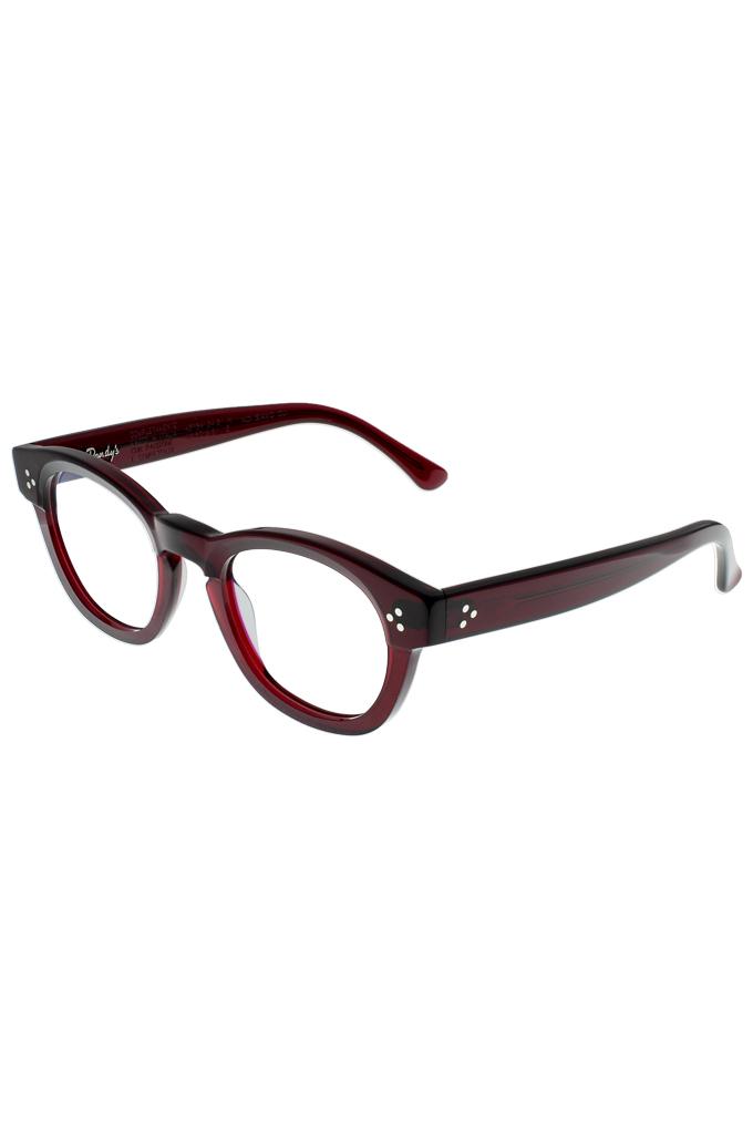 Dandy's Hand Cut Acetate Eyeglasses - Giorgio / RO1 - Image 0