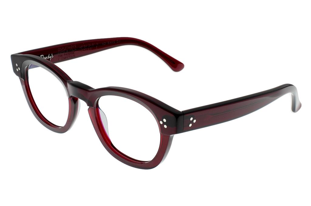 Dandy's Hand Cut Acetate Eyeglasses - Giorgio / RO1 - Image 1