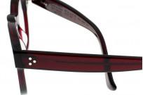 Dandy's Hand Cut Acetate Eyeglasses - Giorgio / RO1 - Image 5