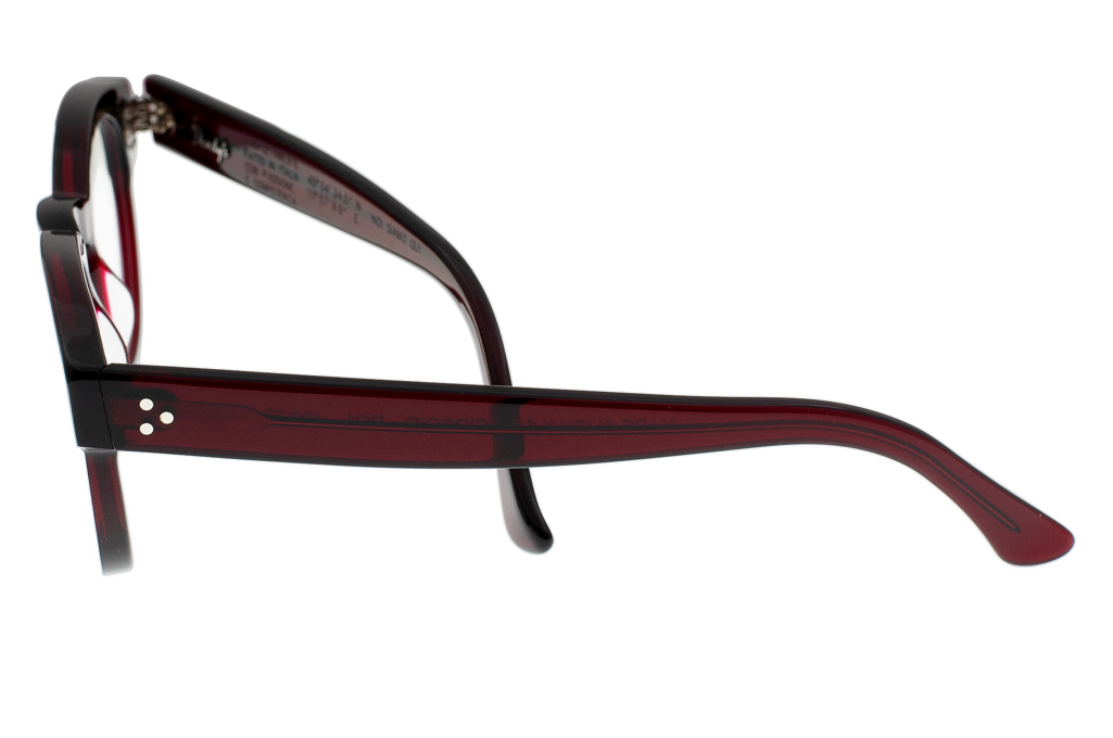 Dandy's Hand Cut Acetate Eyeglasses - Giorgio / RO1 - Image 6