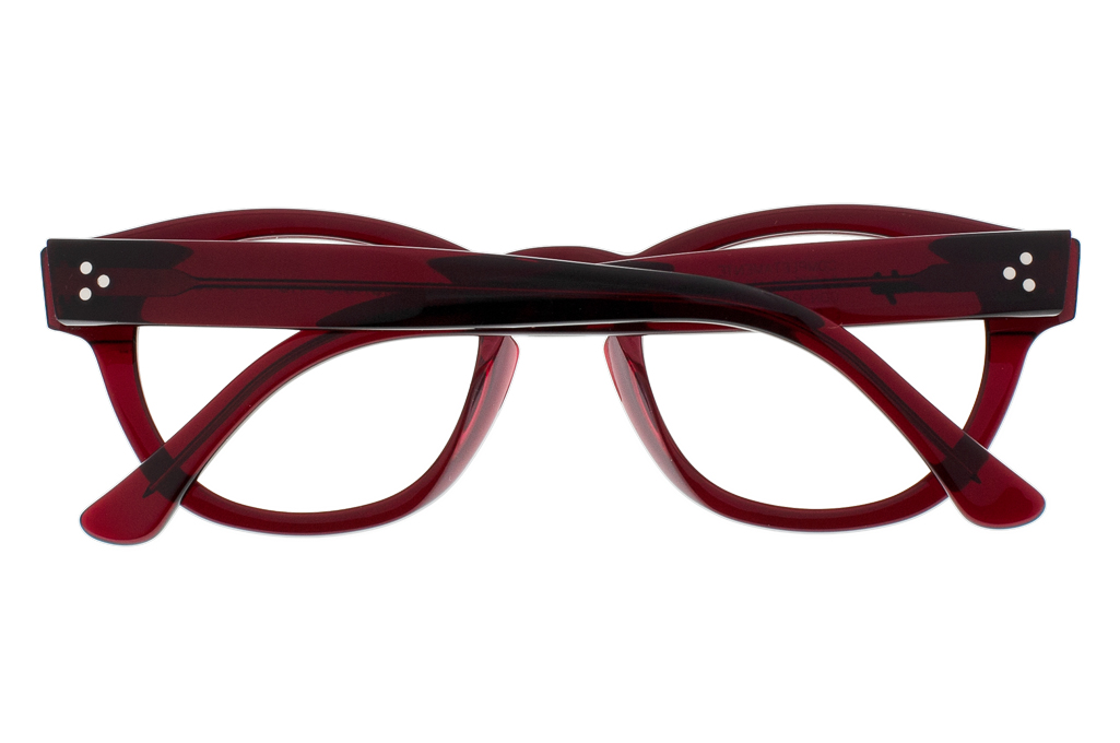Dandy's Hand Cut Acetate Eyeglasses - Giorgio / RO1 - Image 8