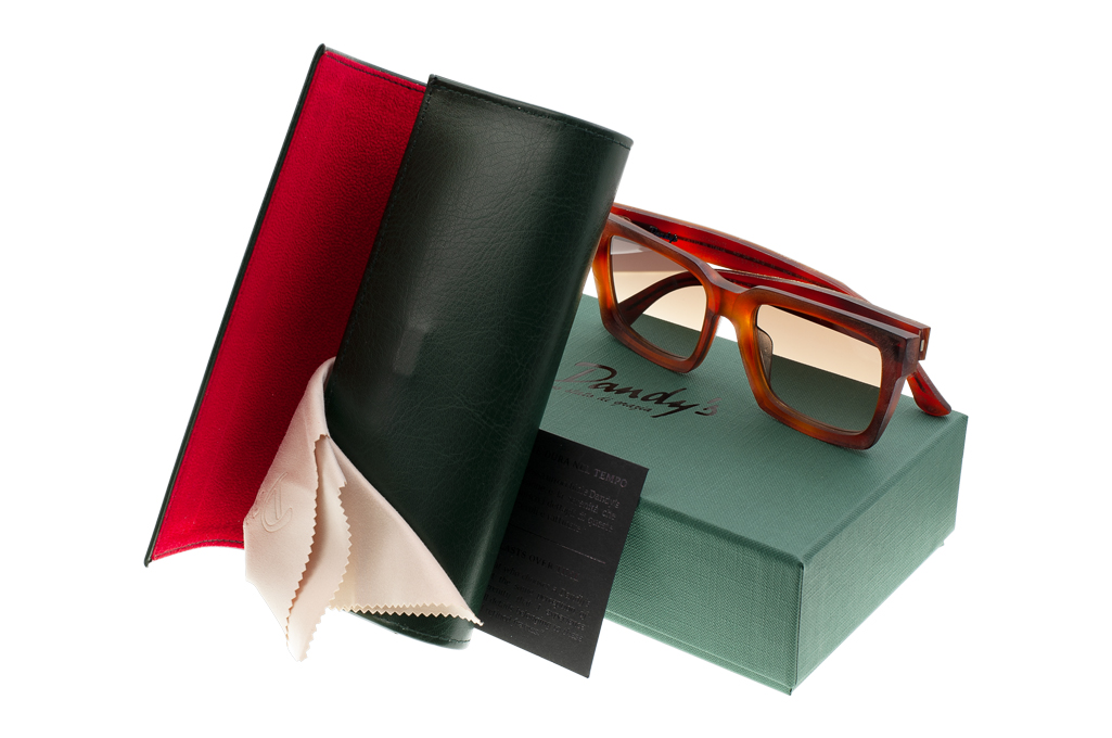 Dandy's Hand Cut Acetate Eyeglasses - Giorgio / RO1 - Image 10