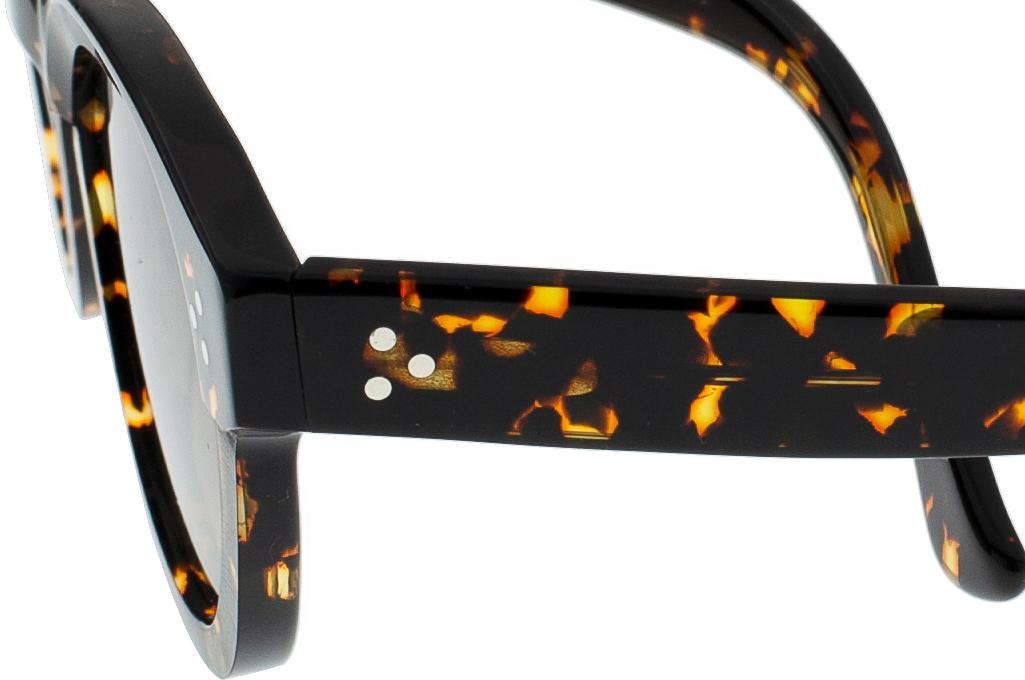 Dandy's Hand Cut Acetate Sunglasses - Giorgio / TS1 - Image 5