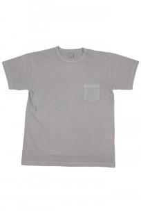 3sixteen Garment Dyed Pocket T-Shirt - Ash - Image 0