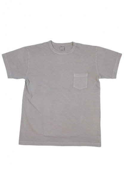 3sixteen Garment Dyed Pocket T-Shirt - Ash
