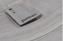3sixteen Garment Dyed Pocket T-Shirt - Ash - Image 3