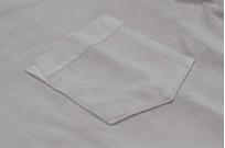 3sixteen Garment Dyed Pocket T-Shirt - Ash - Image 4