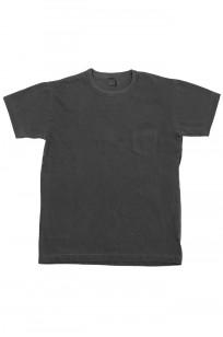 3sixteen Garment Dyed Pocket T-Shirt - Dark Smoke - Image 0