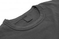 3sixteen Garment Dyed Pocket T-Shirt - Dark Smoke - Image 2