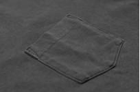3sixteen Garment Dyed Pocket T-Shirt - Dark Smoke - Image 3