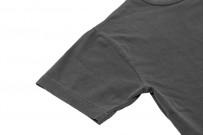 3sixteen Garment Dyed Pocket T-Shirt - Dark Smoke - Image 5