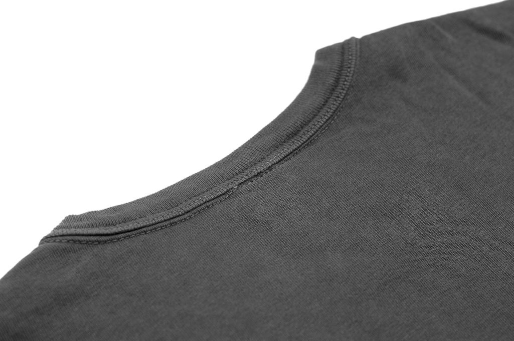 3sixteen Garment Dyed Pocket T-Shirt - Dark Smoke - Image 6