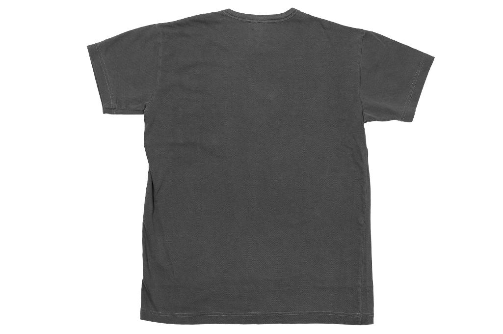 3sixteen Garment Dyed Pocket T-Shirt - Dark Smoke - Image 7