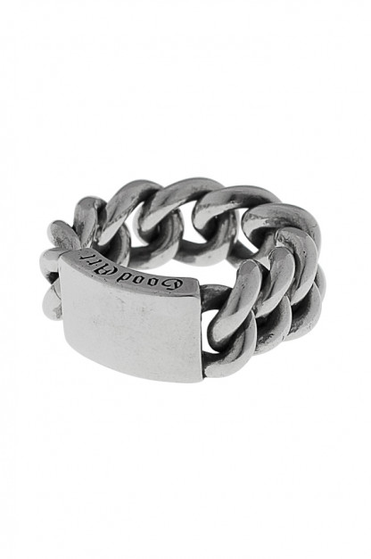 Good Art Curb Chain ID Ring