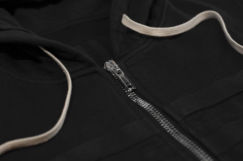 Rick Owens DRKSHDW Jason Hoodie - Black Tecuatl - Image 10