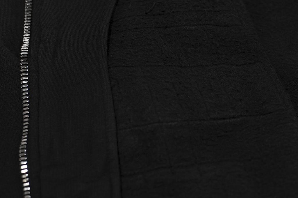 Rick Owens DRKSHDW Jason Hoodie - Black Tecuatl - Image 11