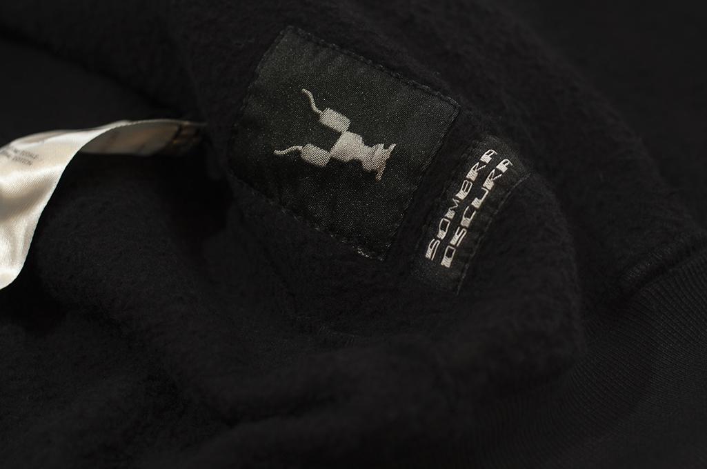 Rick Owens DRKSHDW Jason Hoodie - Black Tecuatl - Image 12