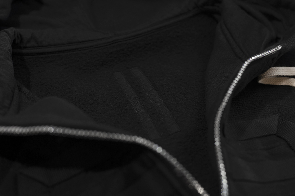 Rick Owens DRKSHDW Jason Hoodie - Black Tecuatl - Image 13