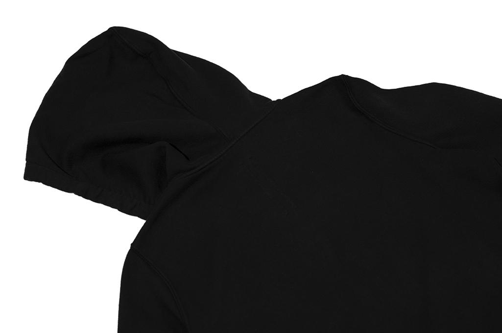 Rick Owens DRKSHDW Jason Hoodie - Black Tecuatl - Image 17