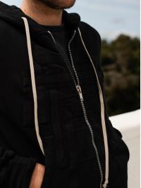 Rick Owens DRKSHDW Jason Hoodie - Black Tecuatl - Image 20