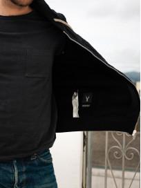 Rick Owens DRKSHDW Jason Hoodie - Black Tecuatl - Image 24