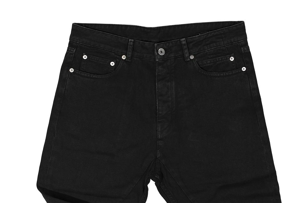 Rick Owens DRKSHDW Torrance Jeans - Garment Dyed Black - Image 7
