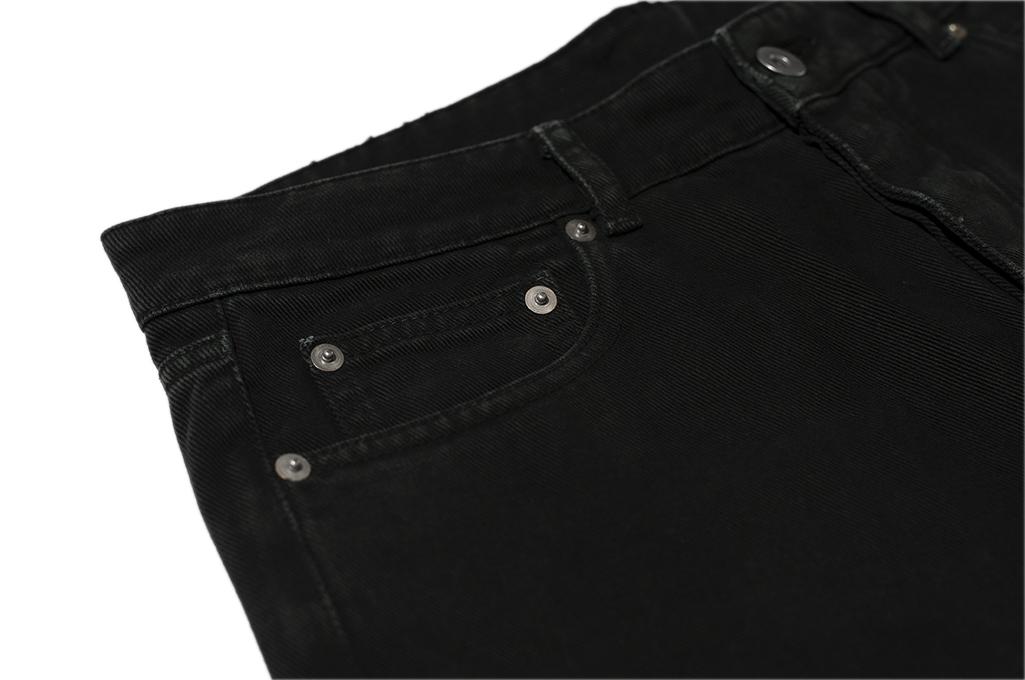 Rick Owens DRKSHDW Torrance Jeans - Garment Dyed Black - Image 8