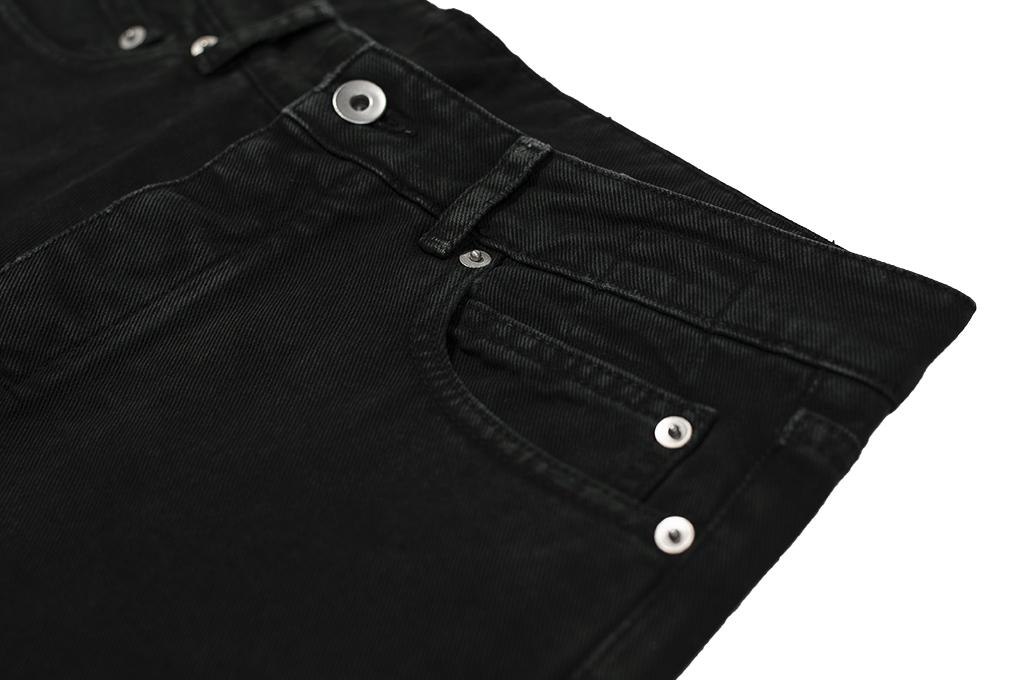 Rick Owens DRKSHDW Torrance Jeans - Garment Dyed Black - Image 9