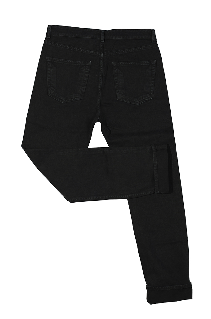 Rick Owens DRKSHDW Torrance Jeans - Garment Dyed Black - Image 15