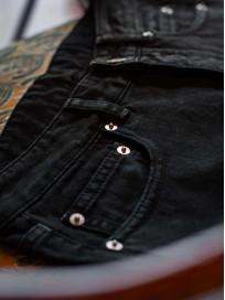 Rick Owens DRKSHDW Torrance Jeans - Garment Dyed Black - Image 19