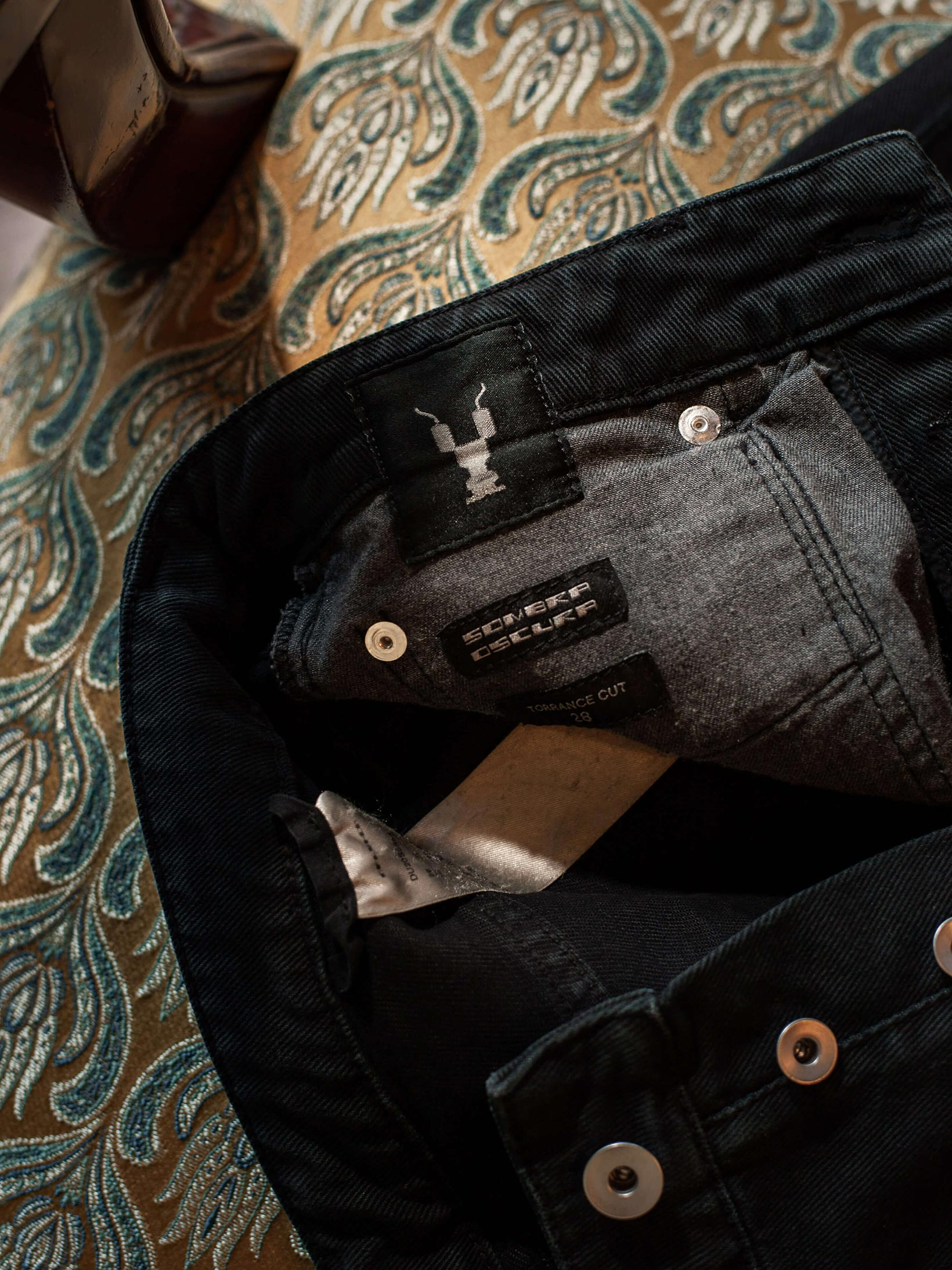 Rick Owens DRKSHDW Torrance Jeans - Garment Dyed Black - Image 20