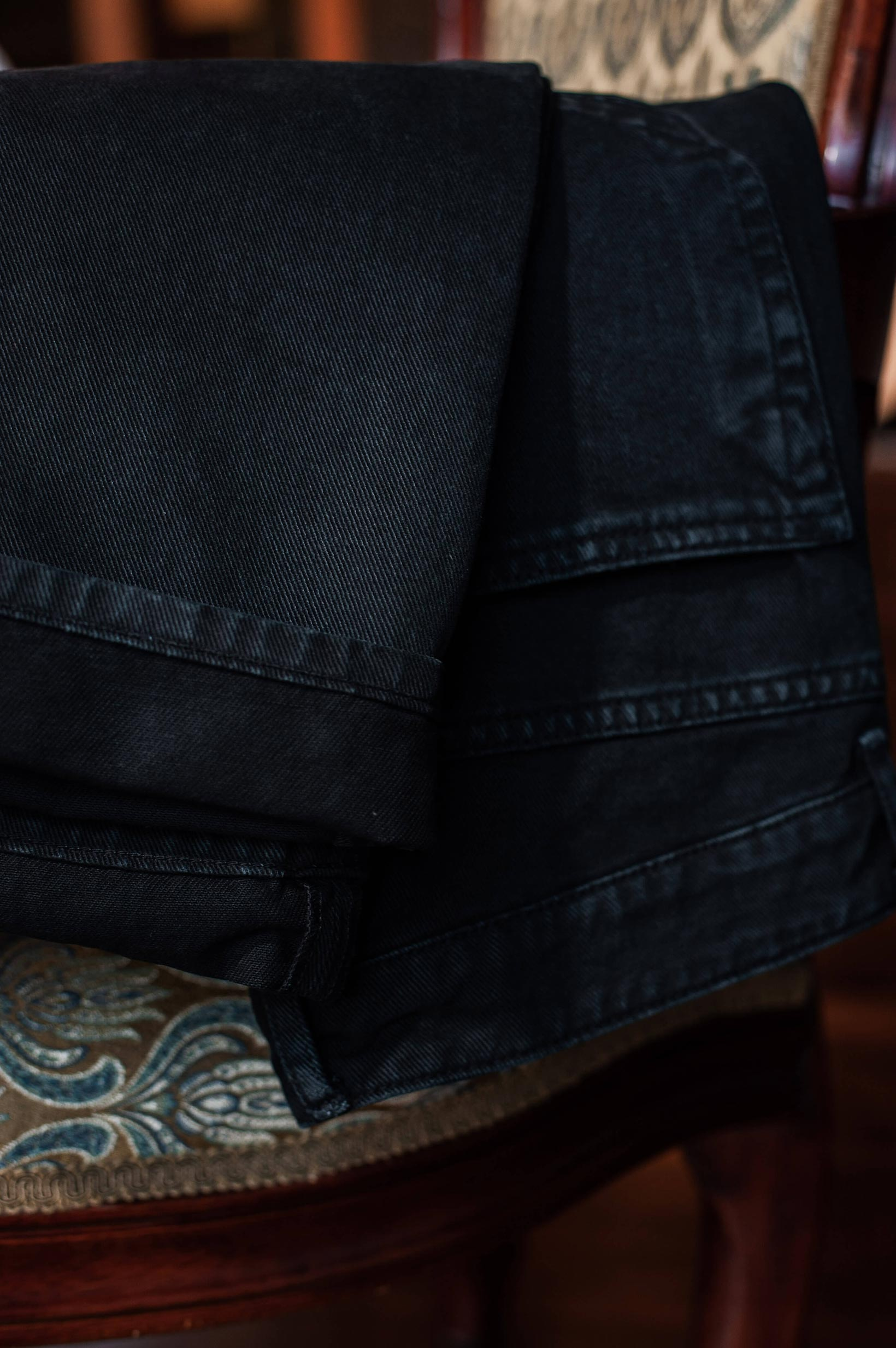 Rick Owens DRKSHDW Torrance Jeans - Garment Dyed Black - Image 21