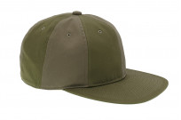 Poten Japanese Made Cap - Army Green Ventile - Image 1