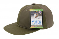 Poten Japanese Made Cap - Army Green Ventile - Image 3
