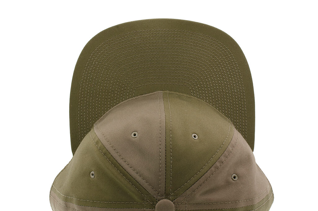 Poten Japanese Made Cap - Army Green Ventile - Image 6
